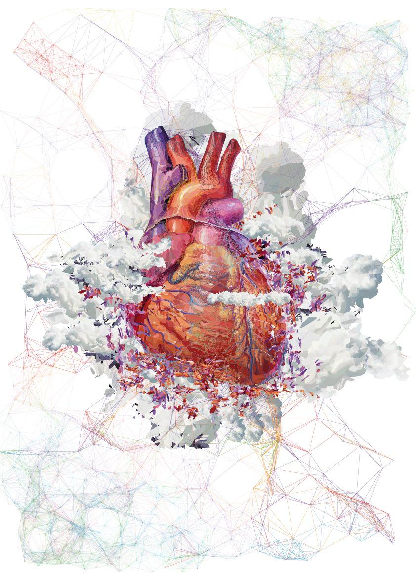 Cardiac Art Art Anatomical Heart Art Heart Art