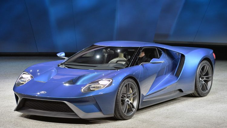 Ford Gt Concept Detroit 2015 Photo Gallery Ford Gt Super Cars Ford Gt 2016