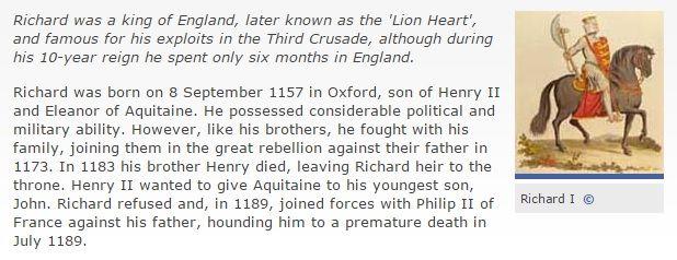 http://www.bbc.co.uk/history/historic_figures/richard_i_king.shtml