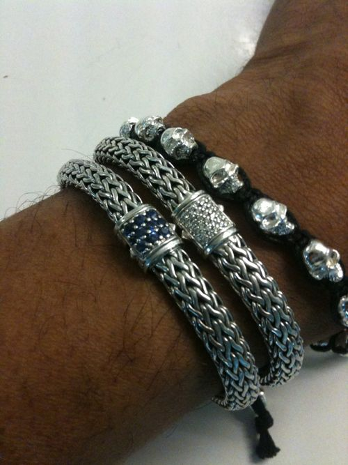 Here Is My Stack Top To Bottom 1 Braided Black Cord