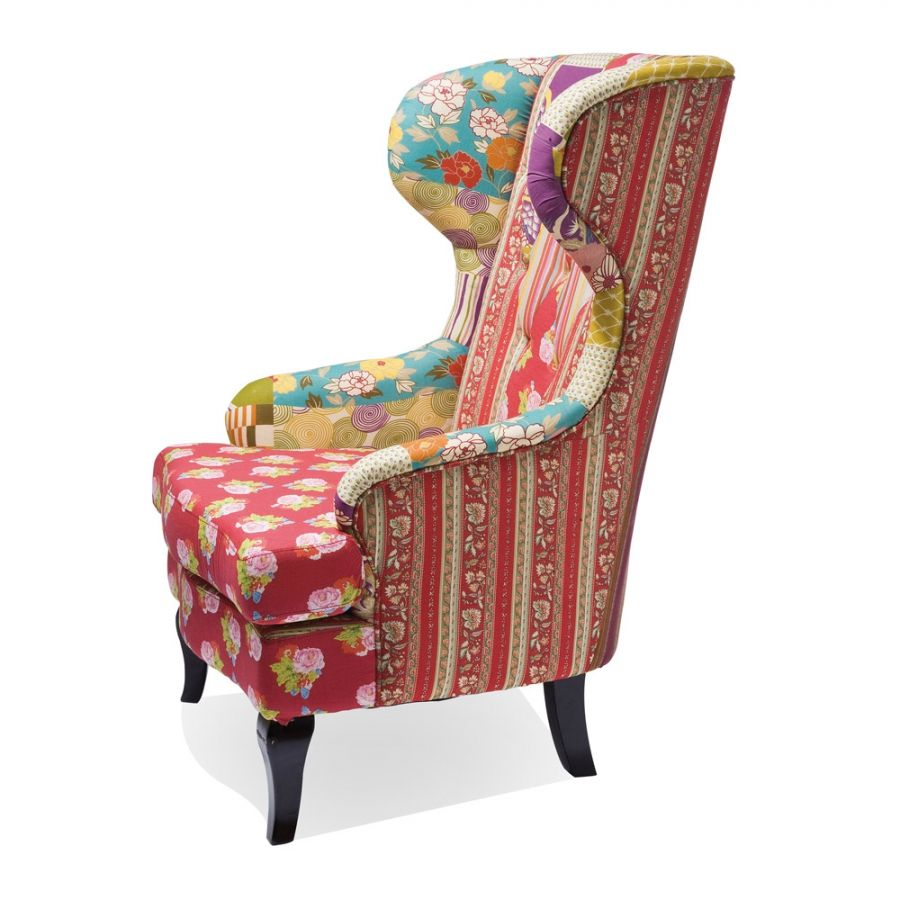 Ohrensessel patchwork  Patchwork Ohrensessel | Design, Rouge and Patchwork