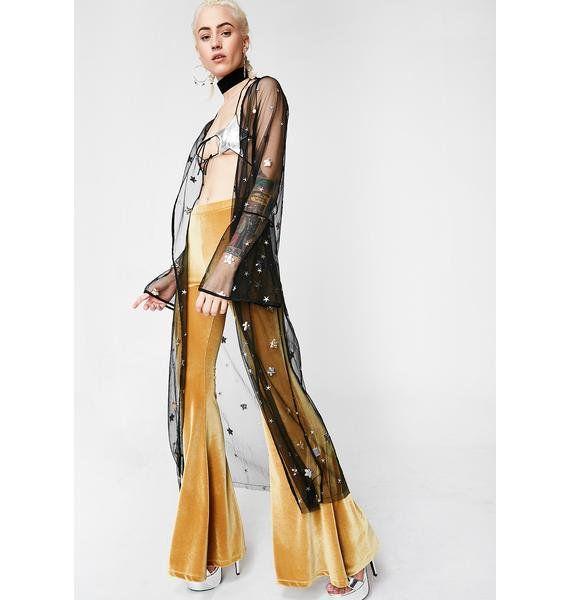 Starlight Bright Sheer Kimono #dollvictoriandressstyles