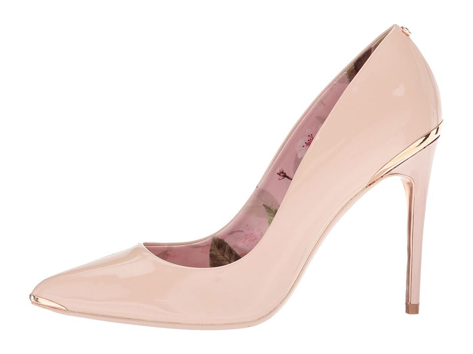 7fae5bbe6 Ted Baker Kaawa 2 Women s Shoes Nude Patent Leather
