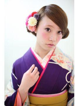 前髪なし 編み込み 卒業式の袴 ドレスに似合う ロング の髪型 3ページ目 Curet キュレット まとめ 卒業式 袴 袴 卒業式ヘアスタイル