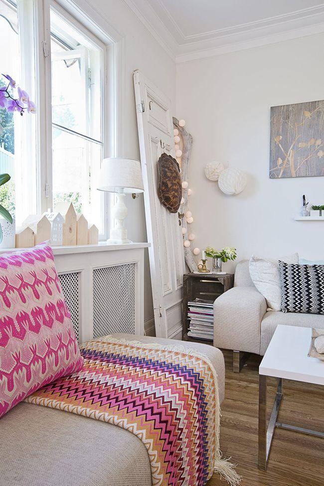 Boho Deco Chic: Una casa familiar llena de color!
