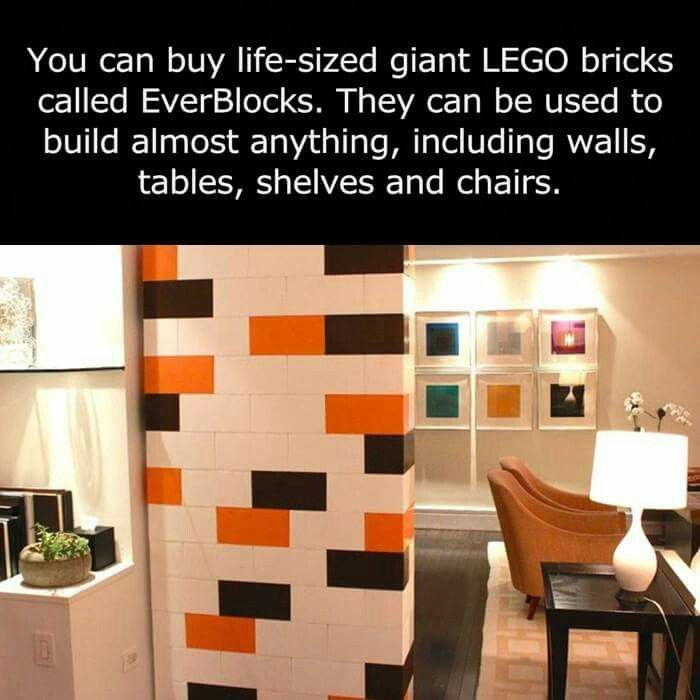 Everblocks Look Like Giant Legos Modular Walls Room Divider