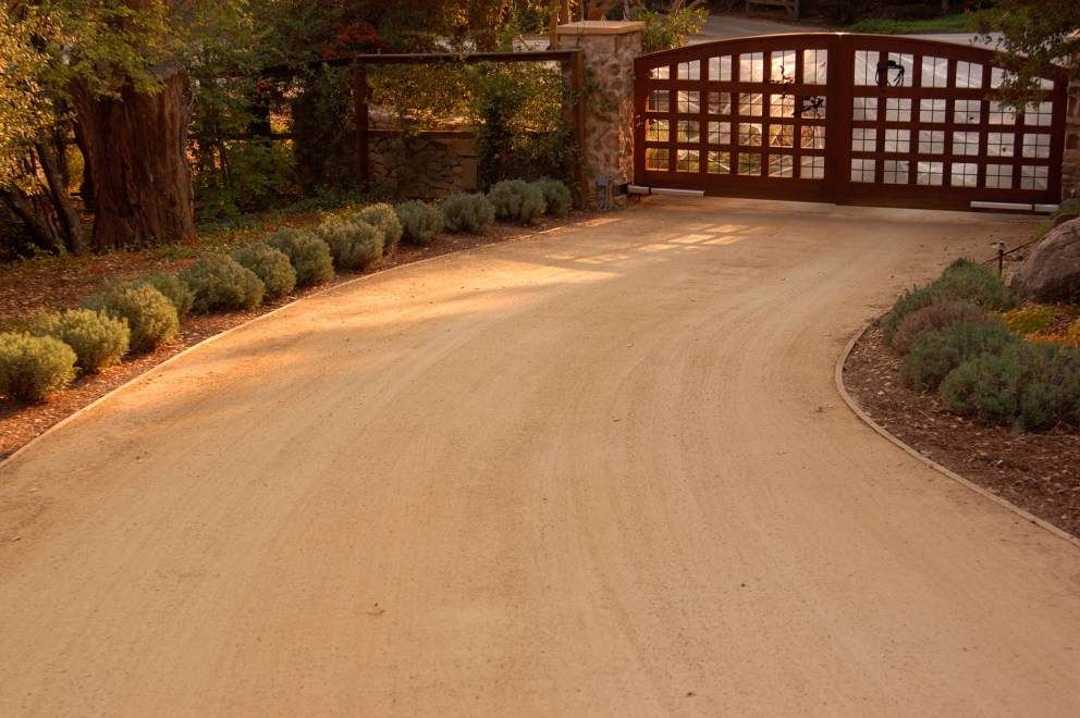 Crushed Granite Driveway Simple Decomposed Becomes More Dramatic With The