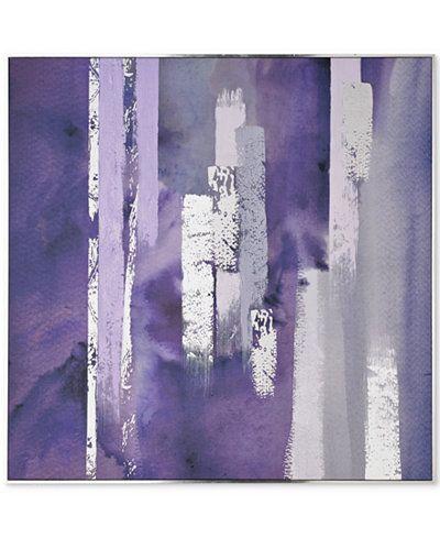 Graham & Brown Purple Harmony Wall Art - Wall Art - Macy\'s | Home ...