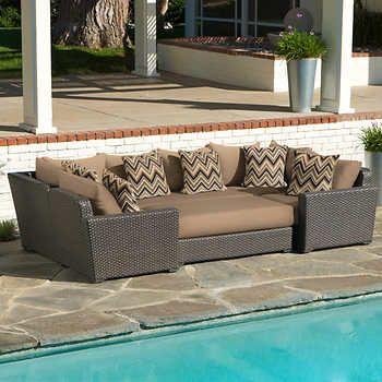 Marvelous Endura 6 Piece Modular Seating Set Choices For New Decor Home Remodeling Inspirations Basidirectenergyitoicom