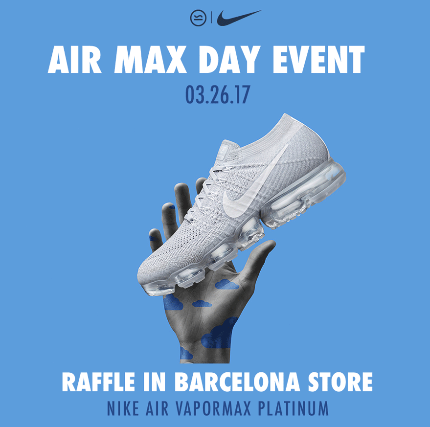 Nike Air Max Day T-Shirt Giveaways with