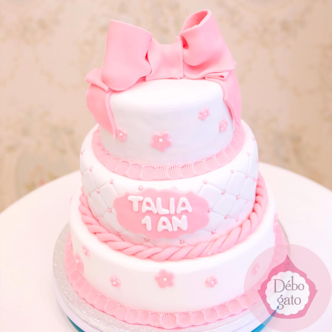 Pièce montée, Roses, Pastel, Rose,Blanc, Cérémonie, Mariage Wedding Cake