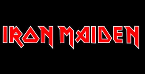 iron maiden logo bands logo pinterest iron maiden