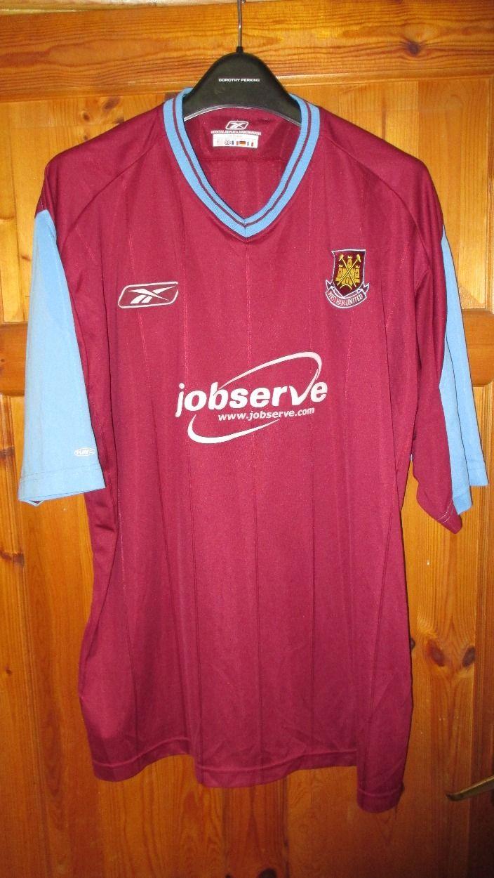 I'm selling Reebok West Ham Utd Home Shirt 2003 05 £20.00
