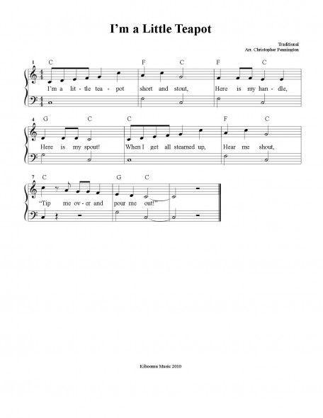 Learn Piano Free Sheet Music