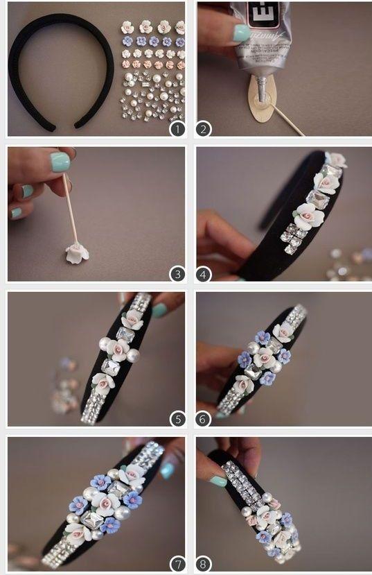 Gut gemocht Comment fabriquer ses bijoux de cheveux ? | Fabriquer ses bijoux  ET99