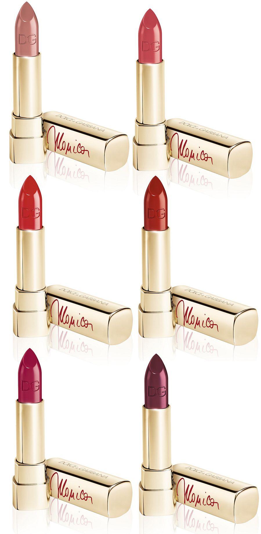Fashion week Gabbana dolce classic cream lipsticks spring for lady