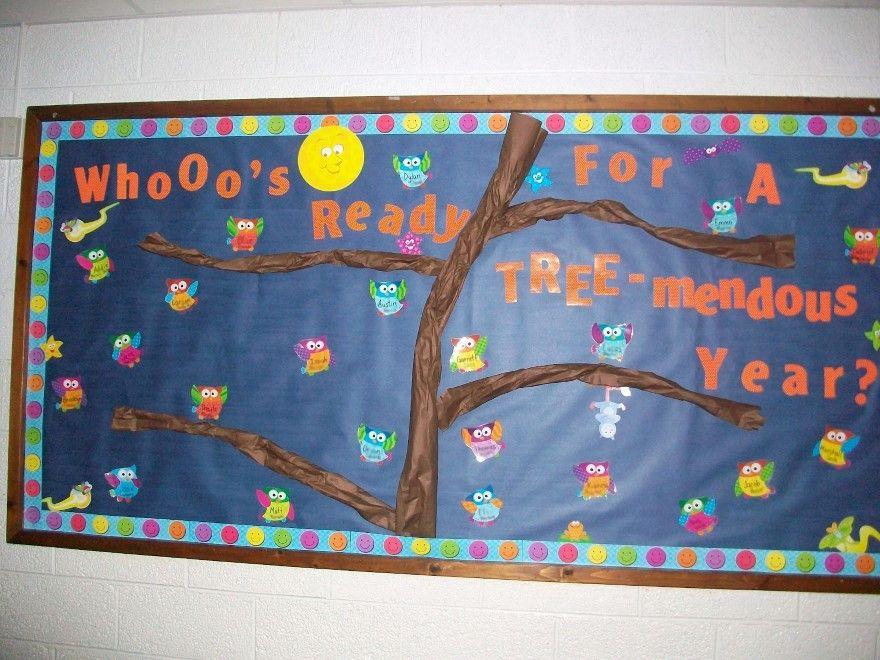 Classroom Bulletin Board Ideas With Owls ~ Welcome back students designs owl bulletin board ideas