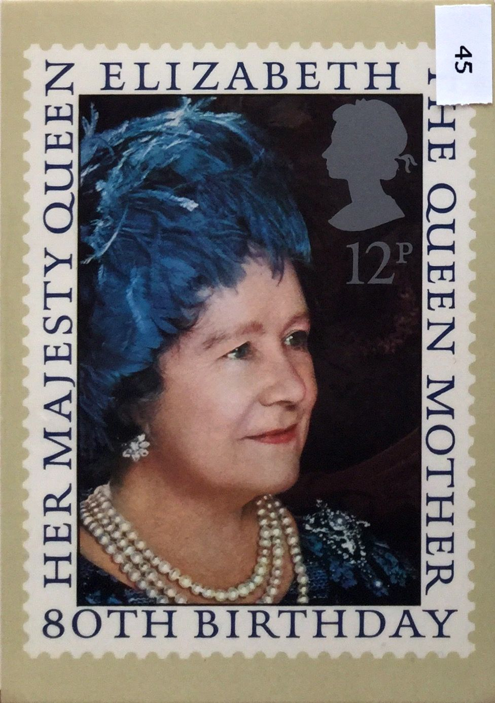 issued august birthday of the queen mother post