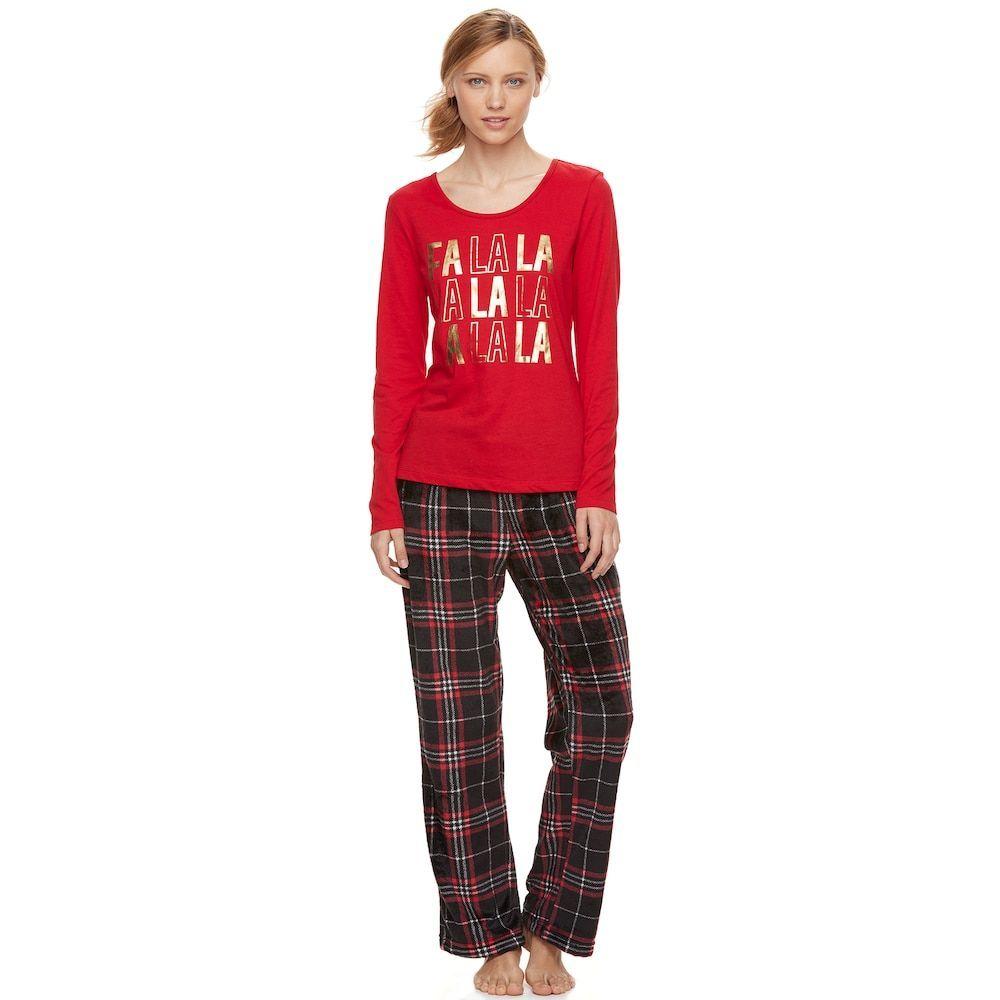 4ea7f8e25 Women s Be Yourself Dreamy Fleece Pajama Set