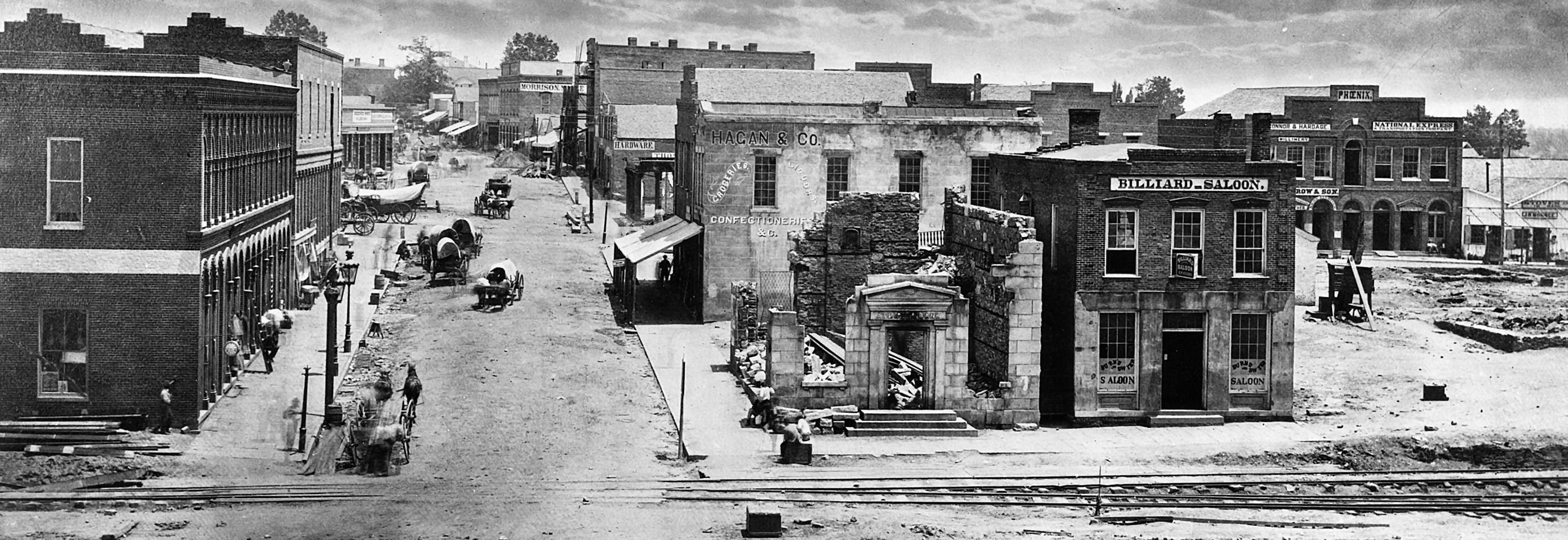 Civil War era photo of Atlanta Civil war photos, Civil