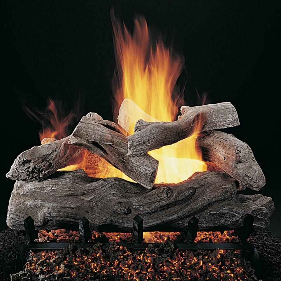 Rasmussen 30 Inch Manzanita Gas Log Set With Vented Propane
