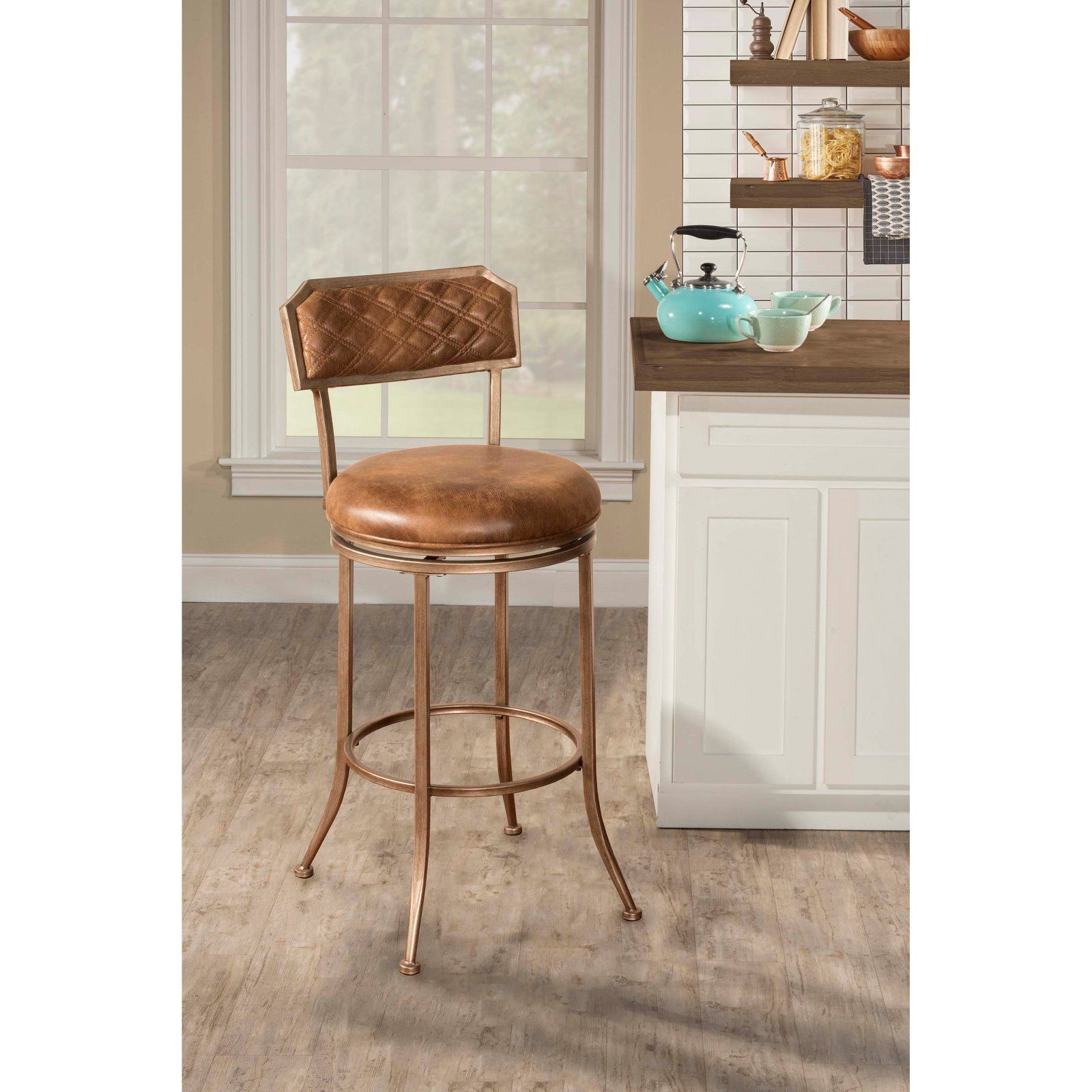 Fine Hillsdale Grant Swivel Bar Stool Products In 2019 Swivel Caraccident5 Cool Chair Designs And Ideas Caraccident5Info