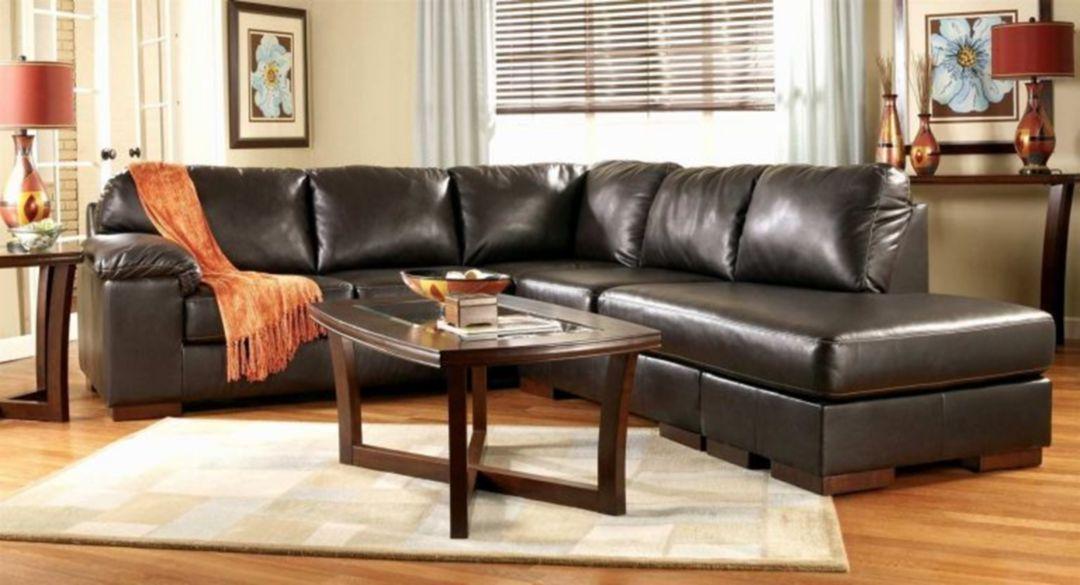 20 Luxury Black Leather Living Room Sofa Ideas For ...