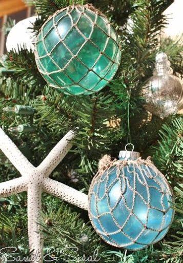 Most Popular Christmas Ornament Crafts Coastal Christmas Decor Beach Christmas Mermaid Christmas