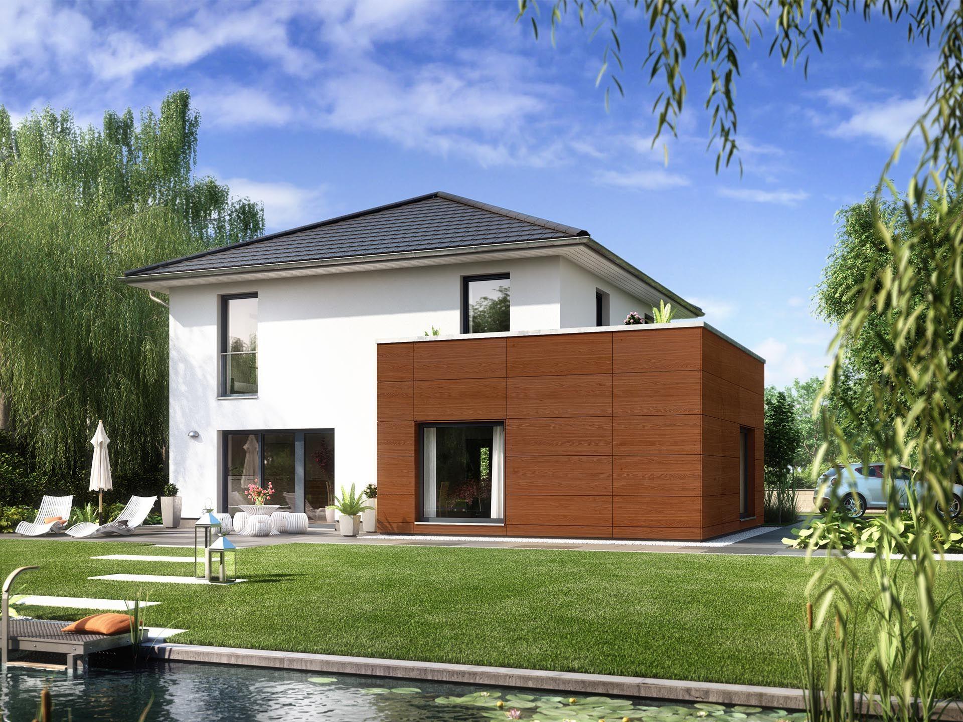 Stadtvilla modern mit anbau  Stadtvilla ARCUS WD.200.2 • Einfamilienhaus von Heinz von Heiden ...