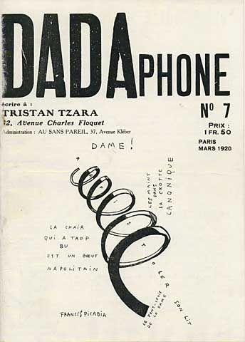 Dada Phone - by Tristan Tzara, Paris, 1920 | Tristan tzara, Dada ...