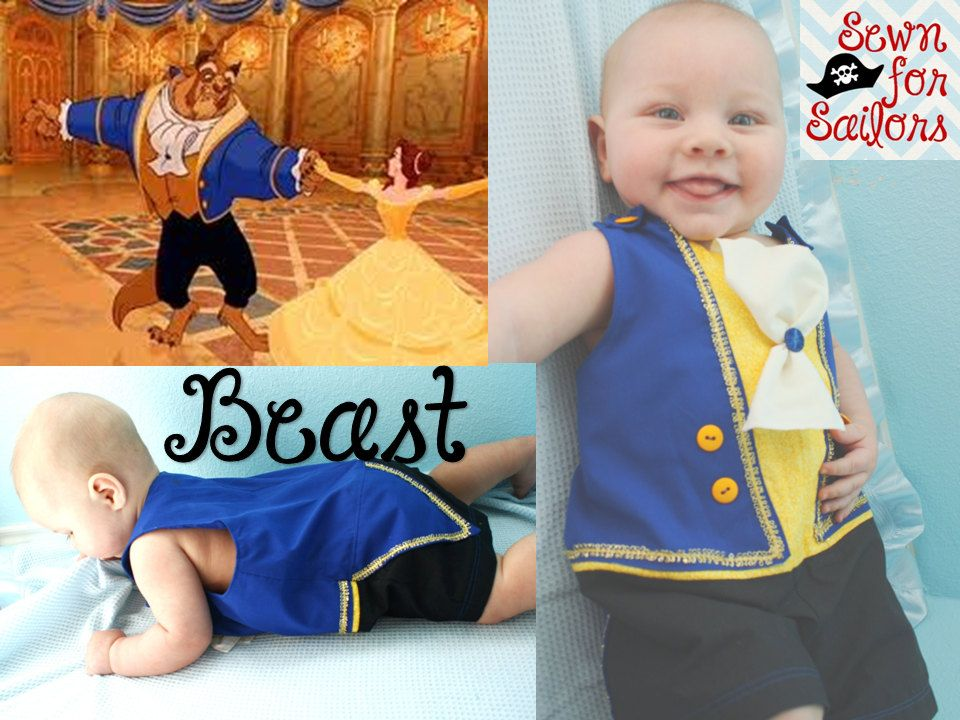Omg That Is Too Cute Disney Beauty And The Beast Beast Inspired Jonjon For Baby Boys Sizes Ne Beauty And The Beast Costume Baby Disney Baby Halloween Outfits