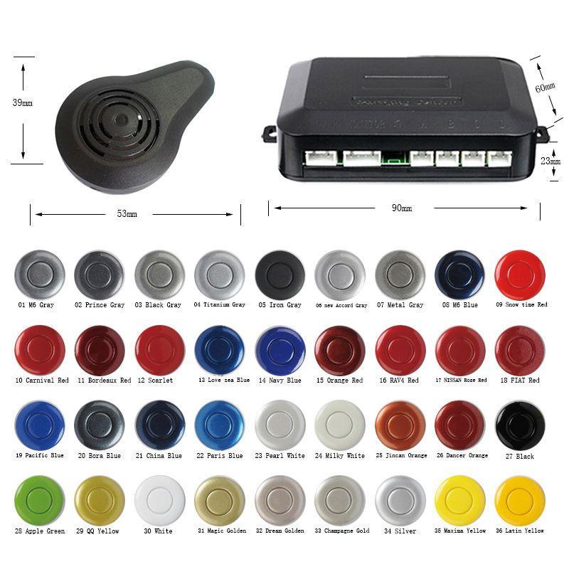 Find More Parking Sensors Information about Multi Color 4