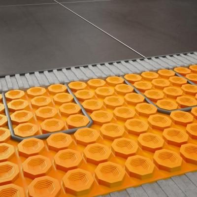 Schluter Ditra Heat 43 1 Sq Ft Electric Flooring Warming Kit Dhek12040 At The Home Depot Tablet Flooring Basement Flooring Options