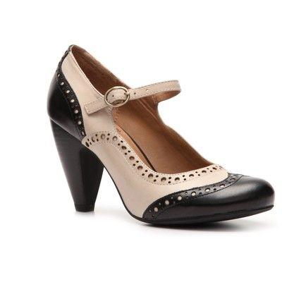 Crown Vintage Santini Pump Shoe Addict Spectator Shoes Shoes