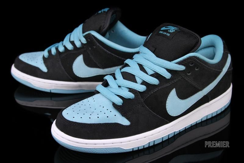 Nike SB Dunk Low Pro - Black   Clear Jade. Carolina-ish  810e37fe34