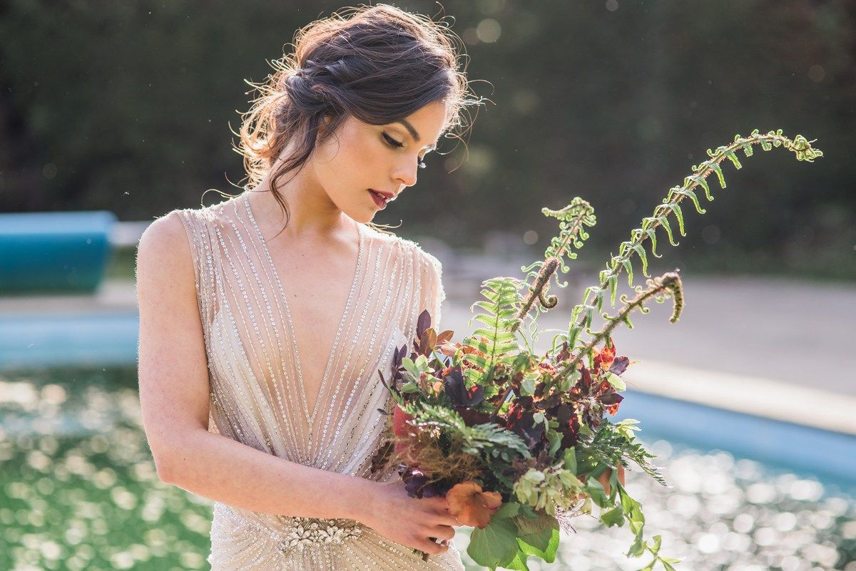 Forest Wedding Inspiration From Somerley Hampshire