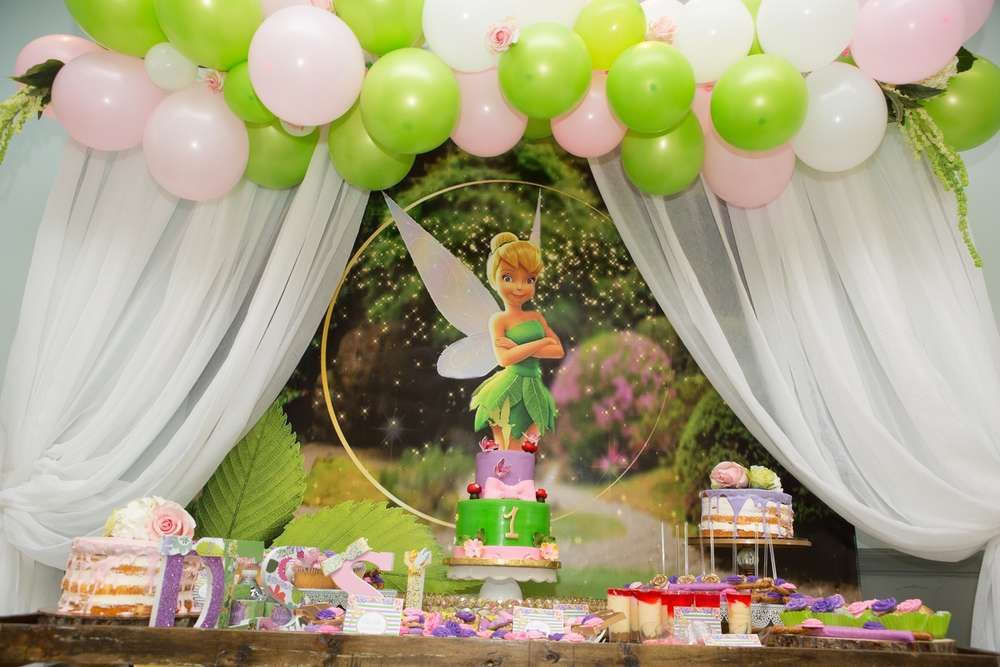 Pin On Tinker Bell And Fairy Party Ideas