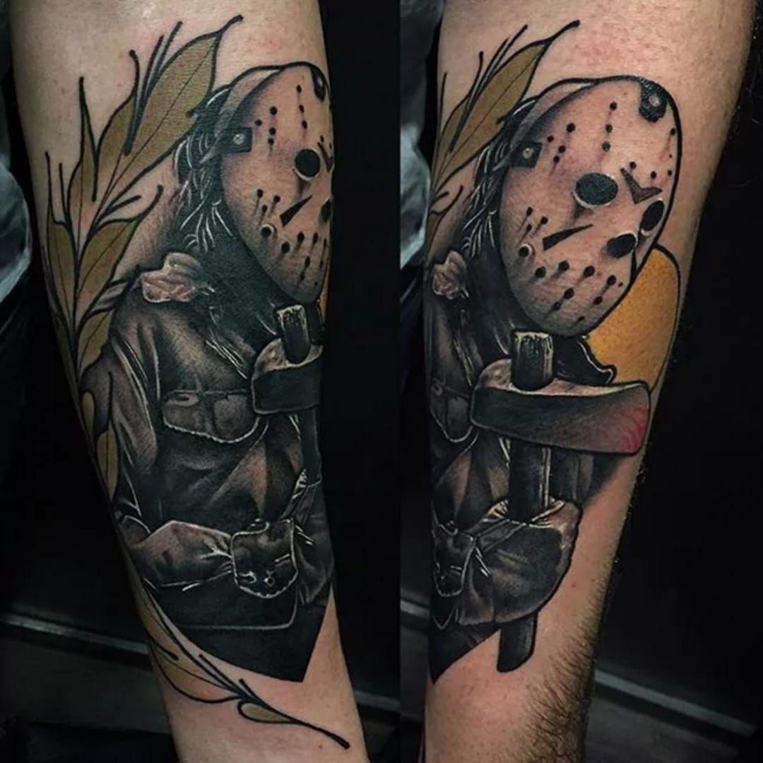 Friday 13 13 tattoos tattoos friday the 13th tattoo