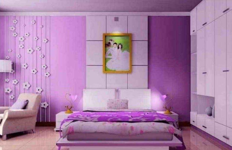 Cat Kamar Tidur Warna Cream