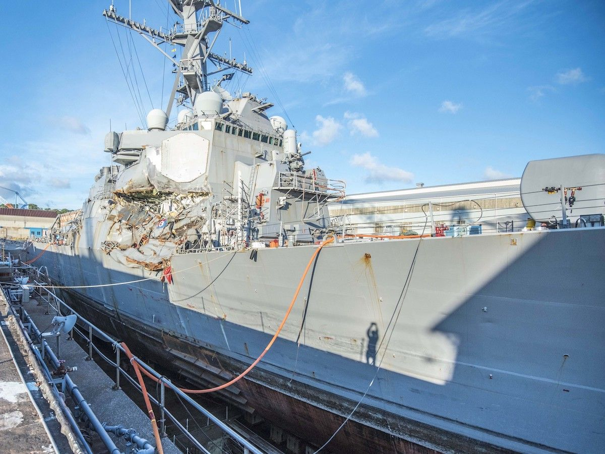 U.S. Navy, Citing Poor Seamanship, Removes Commanders of
