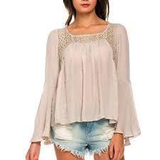 Resultado de imagen para blusas en blonda