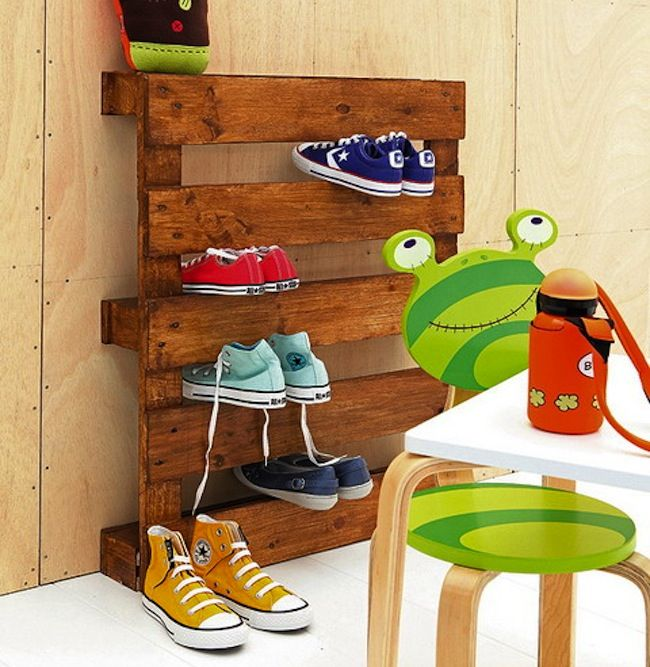 DIY family shoe storage solutions - Andrea\'s Notebook   House ideas ...