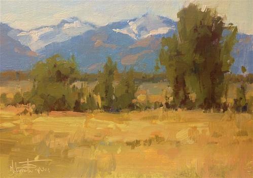"Daily+Paintworks+-+""Near+Hurricane+Creek""+-+Original+Fine+Art+for+Sale+-+©+Melanie+Thompson"