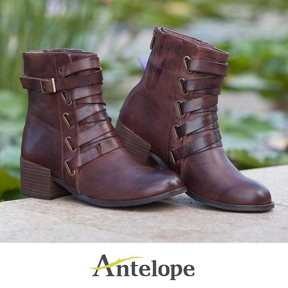 Winter Favorite: Antelope 351 Lace-Up Ankle booties. Stylish design, Western-Victorian inspiration, the WOW-factor of any outfit! http://www.antelopeshoes.com/booties/351-ankle-booties.html