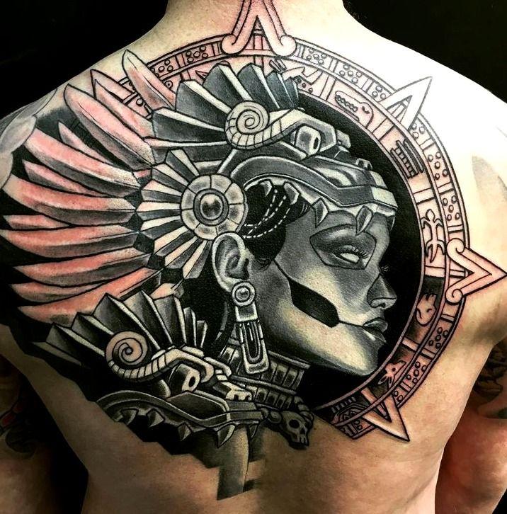 tatuajes mayas y aztecas tatuajes pinterest tatuajes