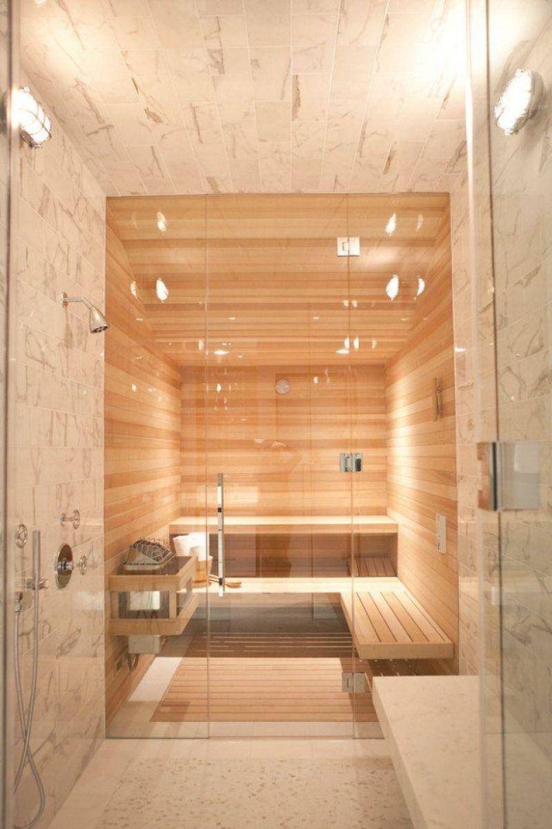 Luxus Badezimmer Wei Mit Sauna Migrainefood Moderne Deko Hedendaagse Badkamer Design Badkamer Huisrenovatie