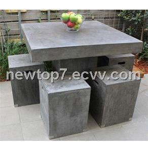 Cement Furniture Concrete Garden Chair Mutfak