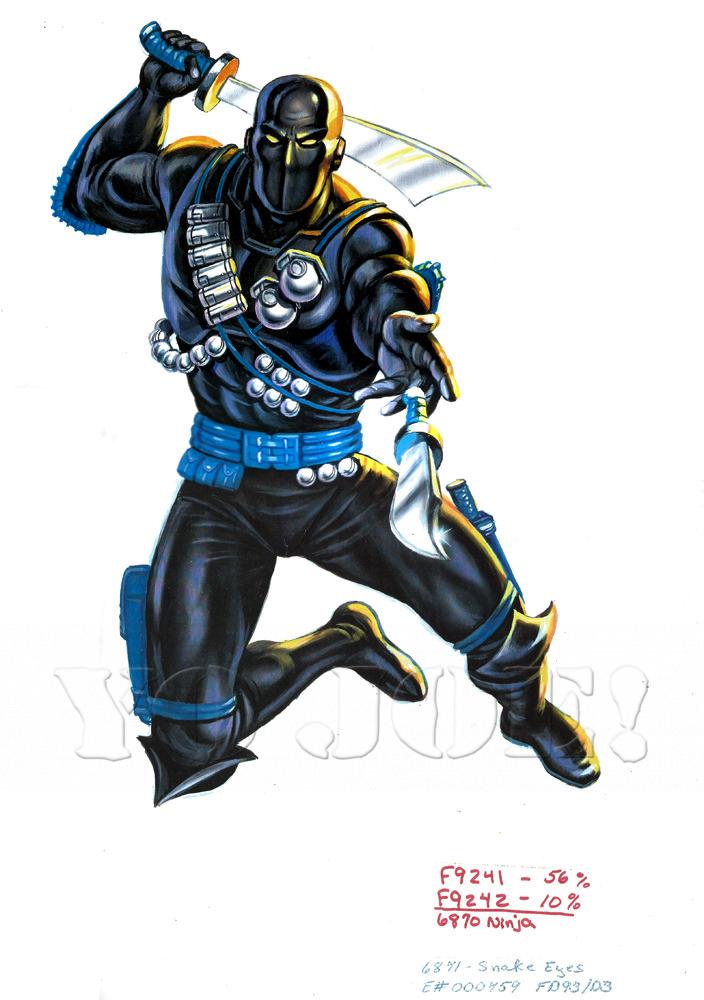 Snake Eyes V5 G I Joe Action Figure Yojoe Archive Snake Eyes Action Figures Storm Shadow