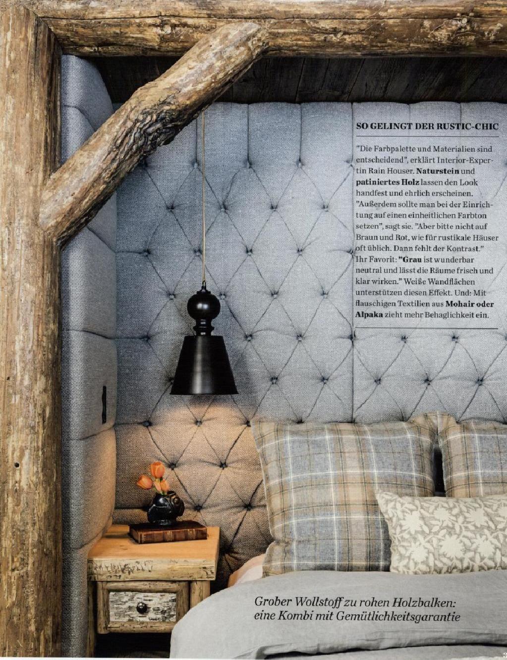 Elle decor master bedroom  Elle decoration d   Decoration Bedrooms and Cabin