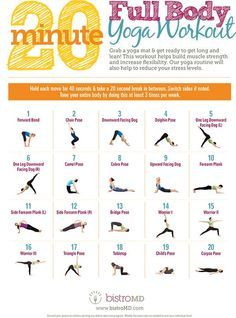 20 minute full body yoga workout guide  easy yoga
